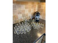 Collection Of 56 Small Glass Bottles