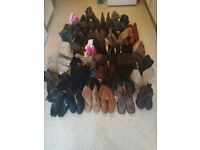 47 Pairs Womens Boots Wholesale Joblot Womens Footwear Market Export Boot Sale