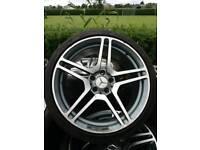 Mercedes 19 inch alloys