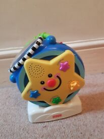 Fisher-Price light projector and music