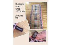 Burberry scarf / wrap