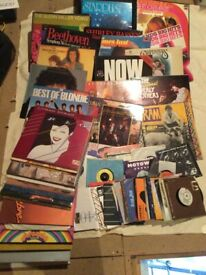 Vinyl record collection 60s,70s,mostly