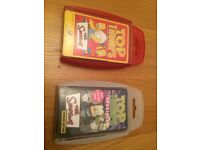 Two Sets of Simpsons Top Trumps Playing Cards - One Special Edition Glow in the Dark Horror Edition