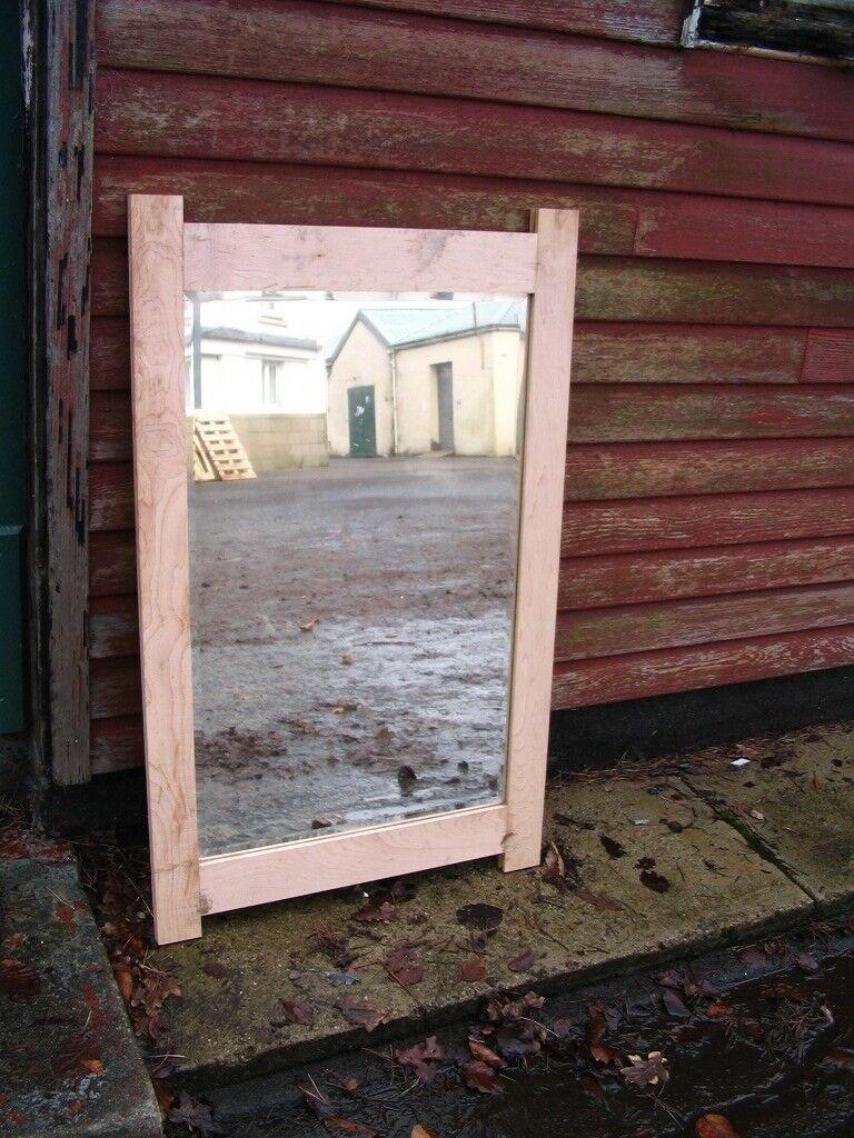 Vintage crystal mirror into reclaimed not painted oak frame   in Juniper  Green, Edinburgh   Gumtree