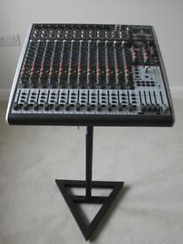 BEHRINGER XENYX X2442 USB MIXING DESK WITH BUILT-IN EFFECTS. IMMACULATE AND BOXED.