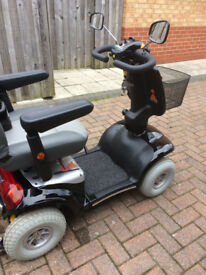 cadiz mobility scooter 12 mounths old hardly used due to illness imaculate condition