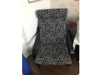 Ikea Dark Wood Poang Chair Fab condition