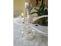Yahya Shisha Pipe set with charcole - used once only.