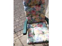 Garden Chairs x 2.