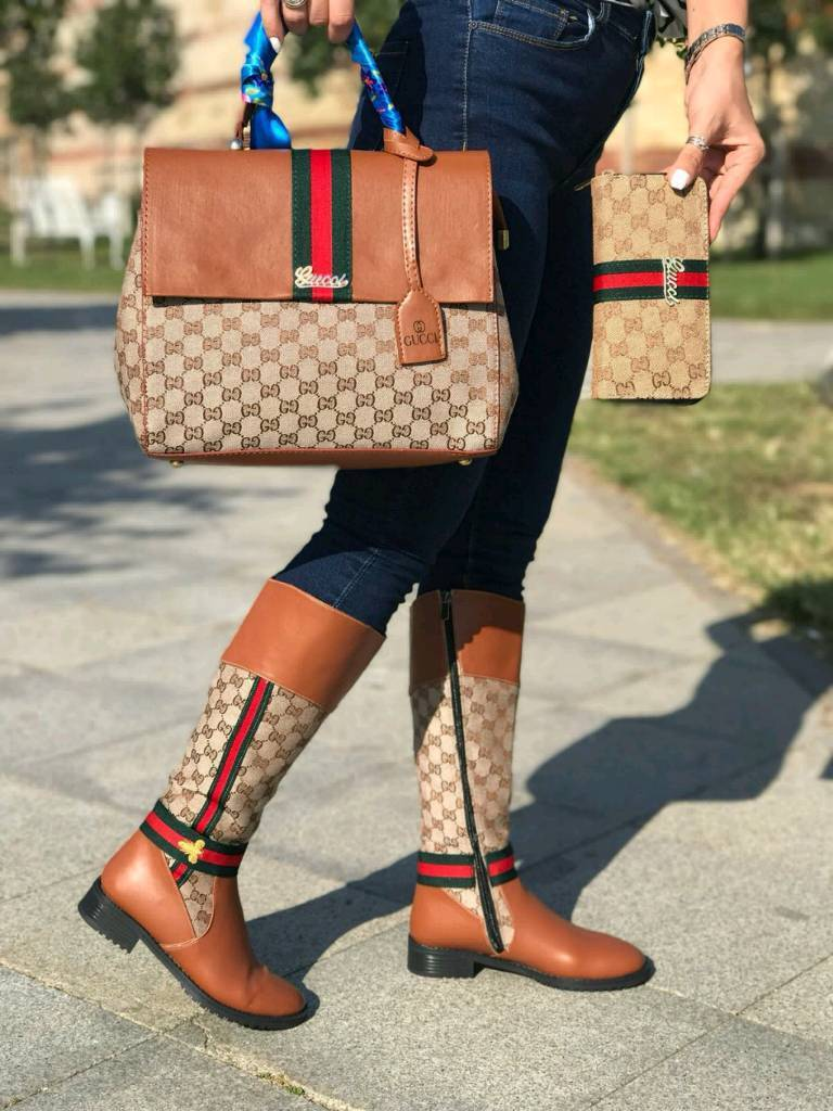 Matching Shoes And Bag Sets