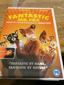 Fantastic Mr Fox dvd