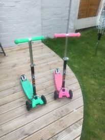 Scooter set ( boy and girl)