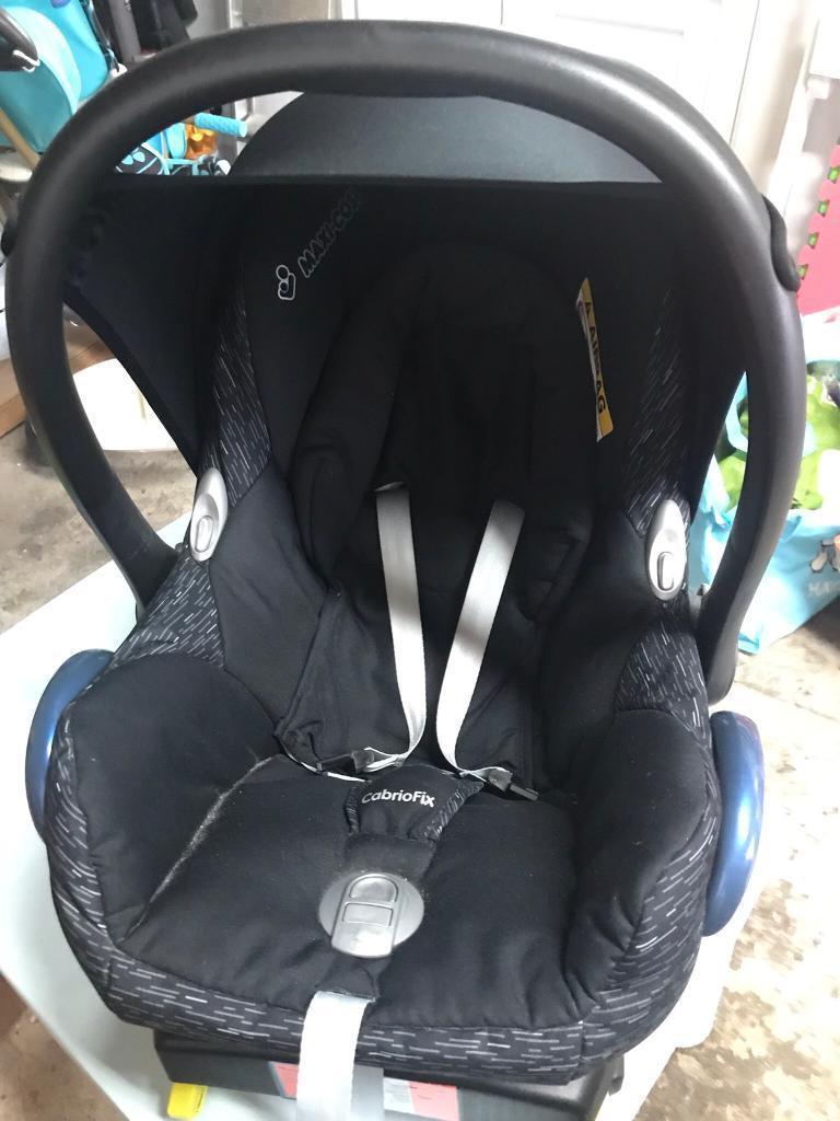 Maxi Cosi Cabriofix Car Seat Infant