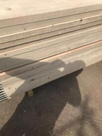 Scaffolding boards 13', 10', 8' Banded