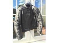 Hein Gericke Leather biker Jacket Prosports (Size 38 UK)
