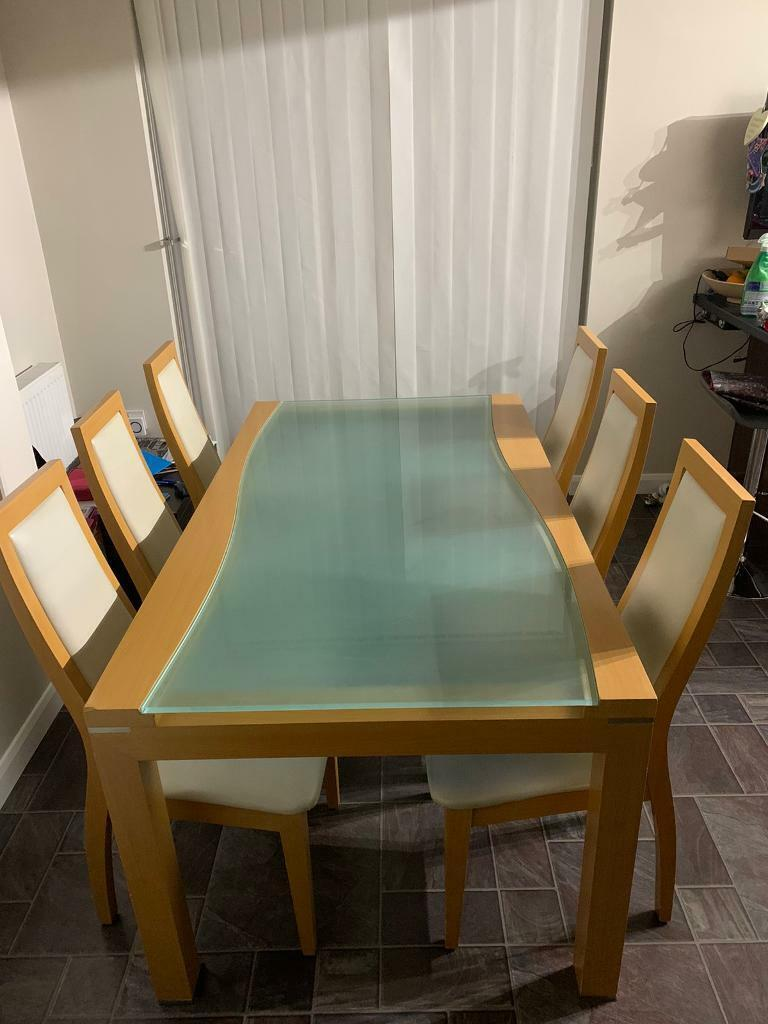Dining Table With Chairs In Plymouth Devon Gumtree