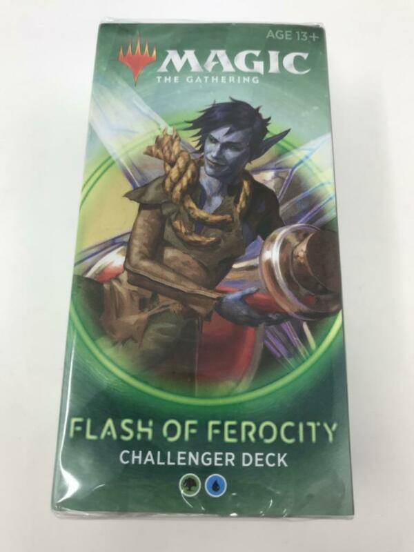 MTG Magic the Gathering Challenger Deck Flash of Ferocity New & Sealed (invA2)