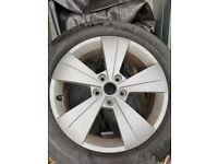 Skoda superb alloys and tyres