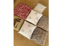 High quality feather down filled cushions 2 H&M cushion covers