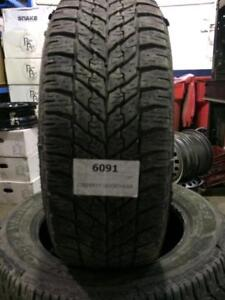 PNEUS HIVER USAGÉS23555R17 / USED WINTER TIRES 235/55r17 23555r17 GOOD YEAR 99T   75$ CHAQUE