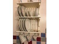 Lovely plate rack