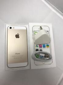 IPhone 5S UNLOCKED IMMACULATE CONDITION GOLD