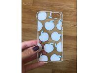 Skinny Dip Peach Emoji iPhone 6/6s hard shell case