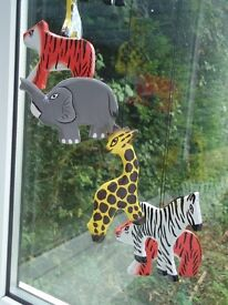 Wooden Handmade Baby Mobile - Brand New £15 **FREE DELIVERY**
