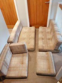 Campervan caravan seat cushions