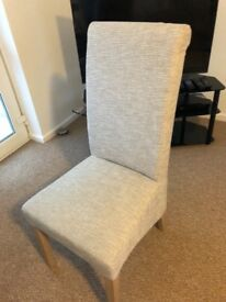 Pair Harlow dining chairs from Next