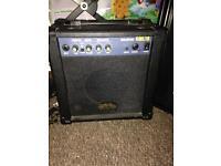 Guitar man amplifier