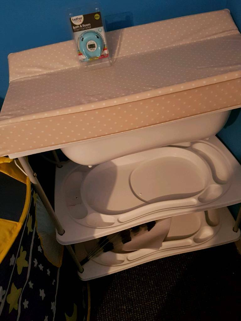 Baby bath/change station | in Larkhall, South Lanarkshire | Gumtree