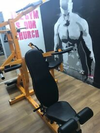 Privately owned professional gym equipment Buy in part or complete - Detailed price info below