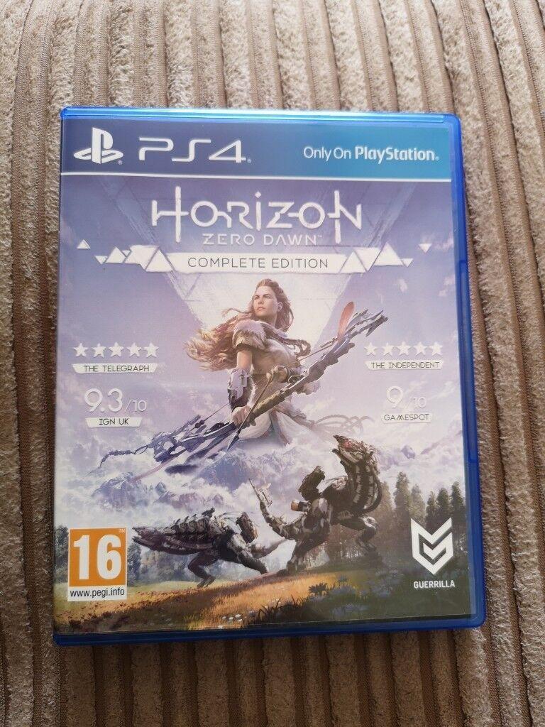 Horizon Zero Dawn Complete Edition Ps4 In Aspley Sony Playstation 4 Collector