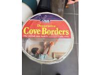 Cove border wallpaper retro vintage