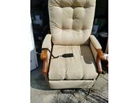 Electric recling chair