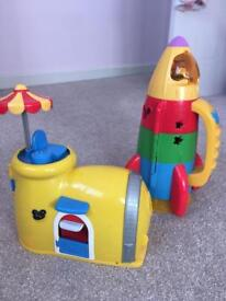 Mickey Mouse Garage and Rocket
