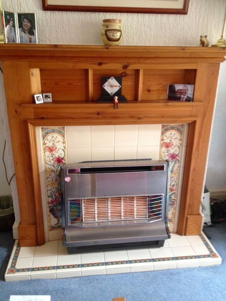 Handsome 1930s Pine Fire Surrondin Didsbury, ManchesterGumtree - This beautiful well kept fire surround was removed to make way for a wood burning stove. Unfortunately I was unable to save the tiled fire back and hearth. The pine frame is in excellent condition and would be perfect in a period property. The width...