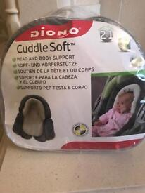 Diono head and body support for pram/car seat/stroller