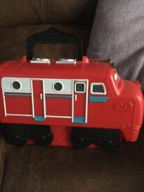 Chuggington Die cast trains and train storage box