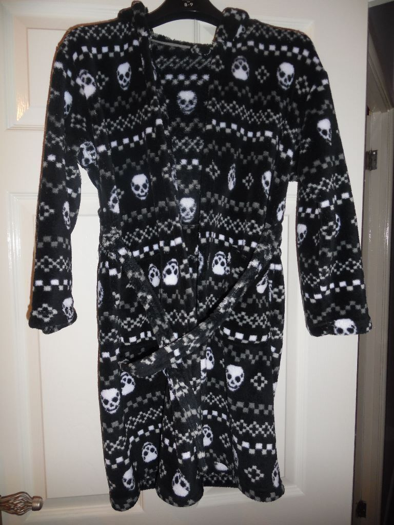 BOYS SKULL PRINT DRESSING GOWNS FROM MATALAN | in Ystrad Mynach ...