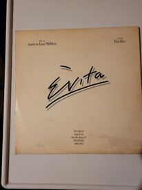 Evita double album.