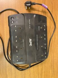 Battery back up and surge protector