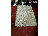 Shaggy Beige Rug from Next