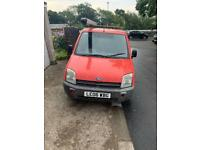 Red Ford Transit Connect Van