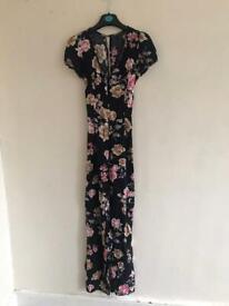 Stunning Miss Selfridge floral jumpsuit for occasion wedding etc