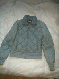 Tommy Hilfiger Puffa Jacket Coat Blue Size M Womens