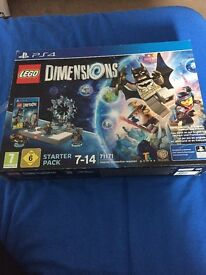 Lego dimensions starter pack PS4 (unused)