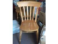 Solid pine Dining/Kitchen Chairs