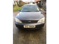 Ford Mondeo Graphite edition 2.0tdci full mot from today